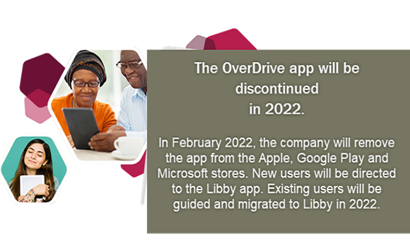 OverDrive to be discontinued